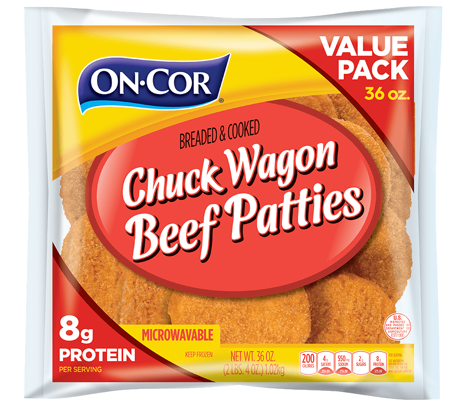 Chuck Wagon Beef Patties - Value Pack