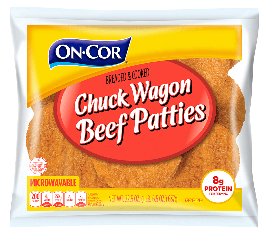 Chuck Wagon Beef Patties