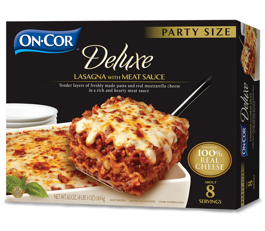 Deluxe Lasagna with Meat Sauce