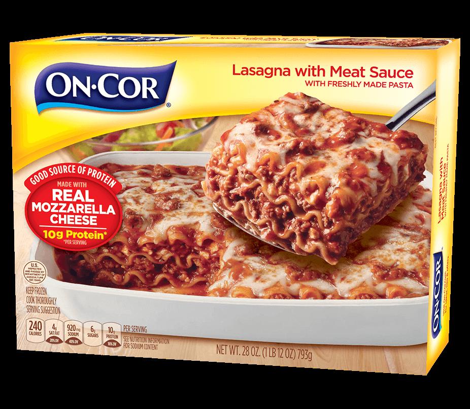 Lasagna with Meat Sauce